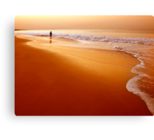 Browny Morning Canvas Print