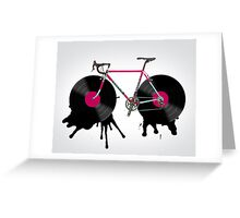 bicycle Greeting Card