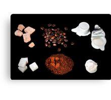 coffee ingredient Canvas Print