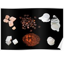 coffee ingredient Poster