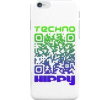 QR Code Technohippy Logo V2 iPhone Case/Skin