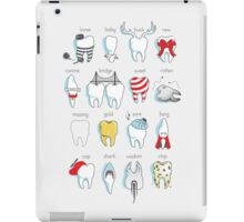 Dental Definitions iPad Case/Skin