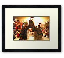 The North Pole According to Marty Framed Print