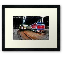 """Arrival and Departure"" Framed Print"