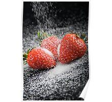 Strawberries and Sugar Poster