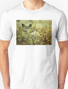 Deer in brush T-Shirt