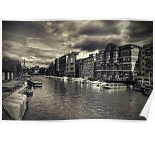 Bristol Docks Poster