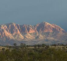 Mt Sonder Storm 1 by Kath Bowman