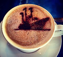 Coffee - Royal Yacht Britannia by Robert Steadman