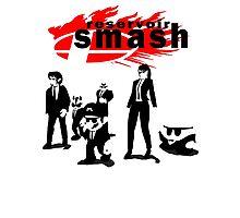 Resevoir Smash Photographic Print
