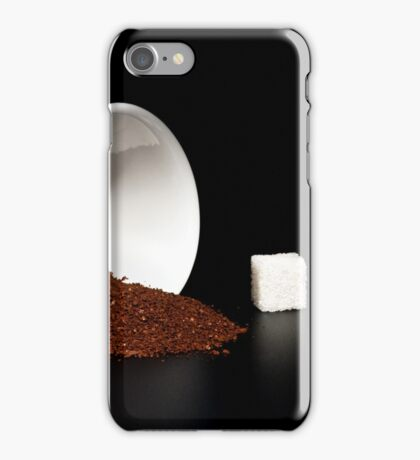 coffee and sugar iPhone Case/Skin