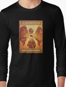 BioShock Infinite – The Tower Protects the Lamb from the False Shepherd Poster Long Sleeve T-Shirt