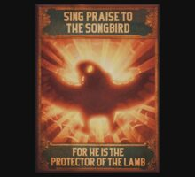 BioShock Infinite – Sing Praise to the Songbird Poster Baby Tee