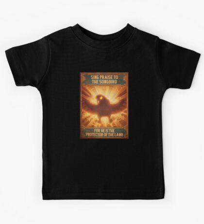 BioShock Infinite – Sing Praise to the Songbird Poster Kids Tee