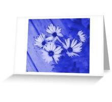 Majestic Blue Greeting Card