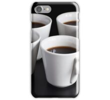 five coffee cups  iPhone Case/Skin