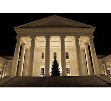 Richmond State Capitol Building  Photographic Print