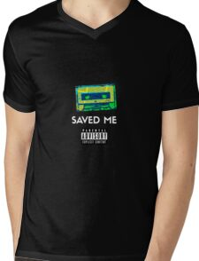 Hiphop Saved Me Mens V-Neck T-Shirt