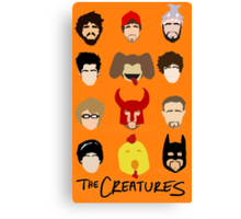 Creatures 2014 Part Deuce Canvas Print