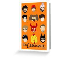 Creatures 2014 Part Deuce Greeting Card