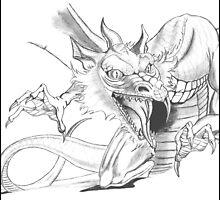 Dragon [Sketch] by steini