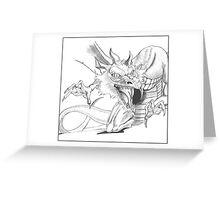 Dragon [Sketch] Greeting Card