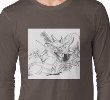 Dragon [Sketch] Long Sleeve T-Shirt