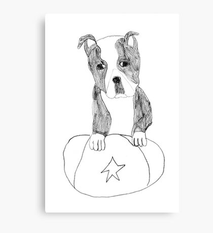 Sad Eyed Pup Canvas Print