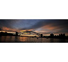 Shadows And Light , Sydney Harbour, Australia Photographic Print
