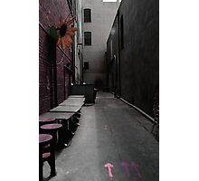 alley-way Photographic Print