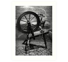 The Spindle Turns Art Print