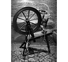 The Spindle Turns Photographic Print