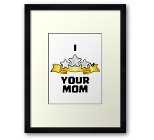 Clash of Clans - I Three Starred Your Mom Framed Print