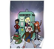 Adventure Time and Space Poster