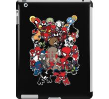 Spidey across time and space iPad Case/Skin