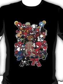 Spidey across time and space T-Shirt