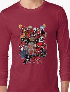 Spidey across time and space Long Sleeve T-Shirt
