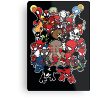Spidey across time and space Metal Print