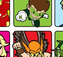 Justice Squared Sticker