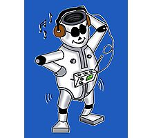 retro robot -the groover t-shirt Photographic Print