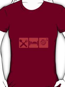 EAT SLEEP KNIT SIGN T-Shirt