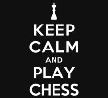 Keep Calm and Play Chess Kids Clothes