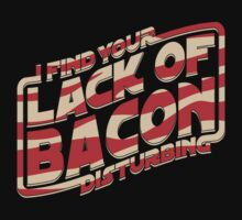I Find Your Lack of Bacon Disturbing One Piece - Long Sleeve