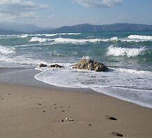 Crete Seascape by emele