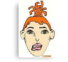 Anime Me - Self Portrait Canvas Print