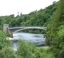 Craigellachie Bridge II by Tom Gomez