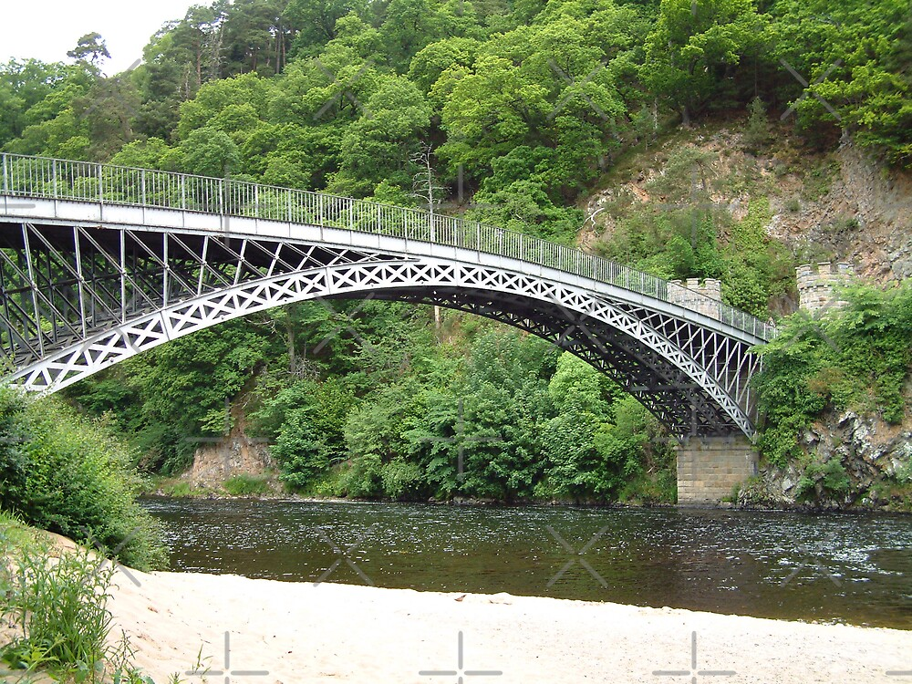 Craigellachie Bridge by Tom Gomez