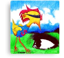 Super Bird Canvas Print