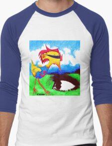 Super Bird Men's Baseball ¾ T-Shirt