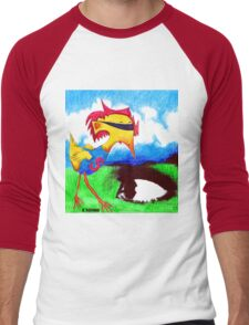 Super Bird Men's Baseball ¾ T-Shirt
